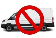 no furgonetas al rastrillo de freesia