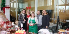 The Freesia Cake Stall Ladies