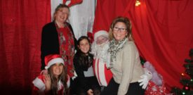 Inside Santas Grotto