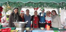 The Freesia Christmas Fair Bar Staff