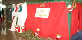 Santas Grotto at the Freesia Fair