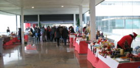 Sellers Stalls at the Christmas Fair