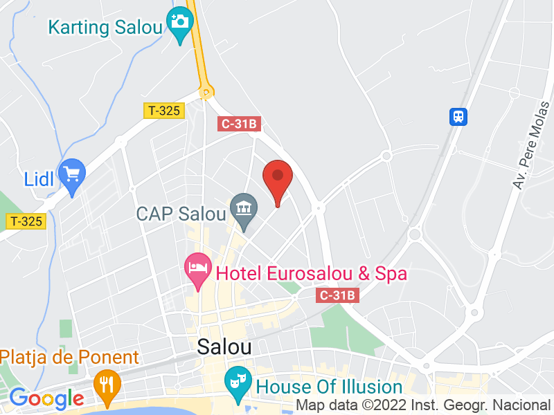 Map of Salou Carboot