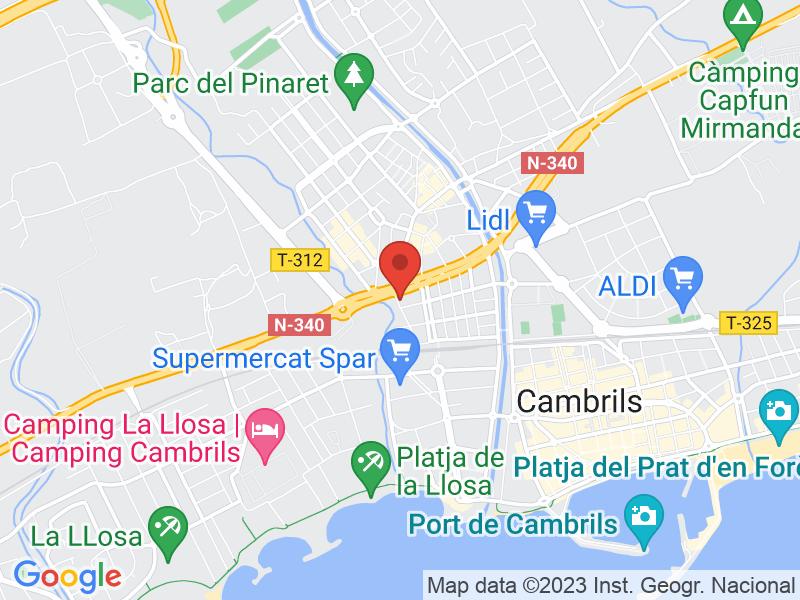 Map of Fonda Montserrat