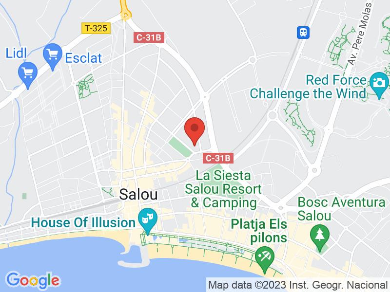 Map of Teatre Auditori Salou