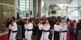 Rumanian Dancers at the Freesia Christmas Fair
