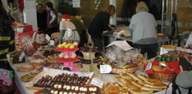 Freesia Xmas Fair Cakes