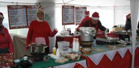 Freesia Events Hot Christmas Food