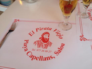 the old pirate salou