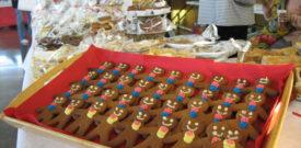 Freesia Christmas Fair Ginger Bread Men