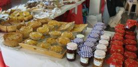 Freesia Christmas Fair Jams and Pies