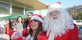 Freesia Christmas Fair Father Christmas