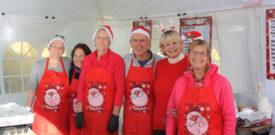 Freesia Christmas Fair Helpers