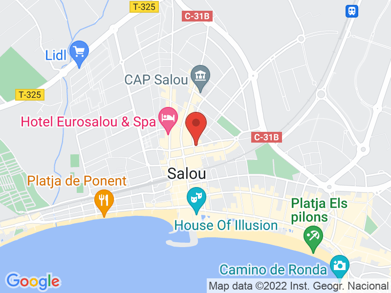 Map of Bandarra Restaurant