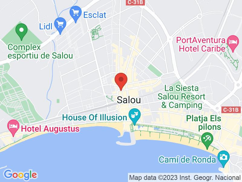 Map of La Cova del Bou