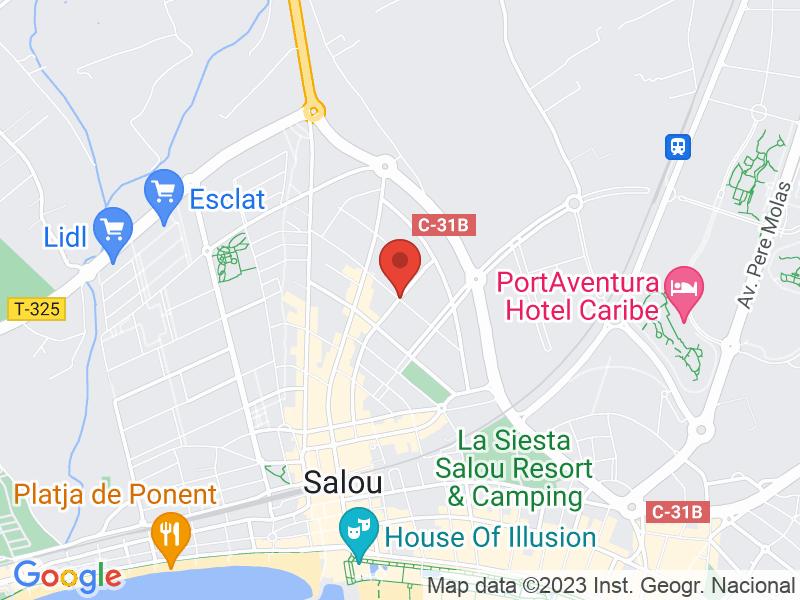 Map of Ubicación Rastrillo