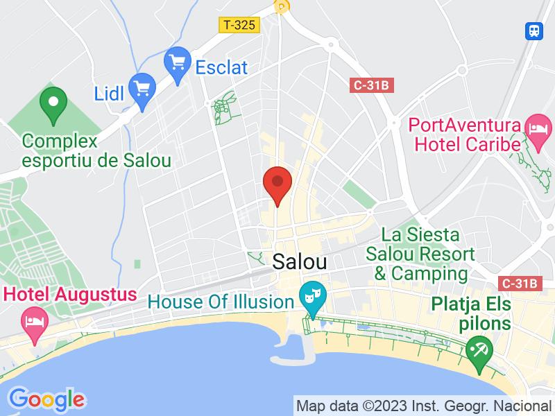 Map of Restaurante Casa de Pizza
