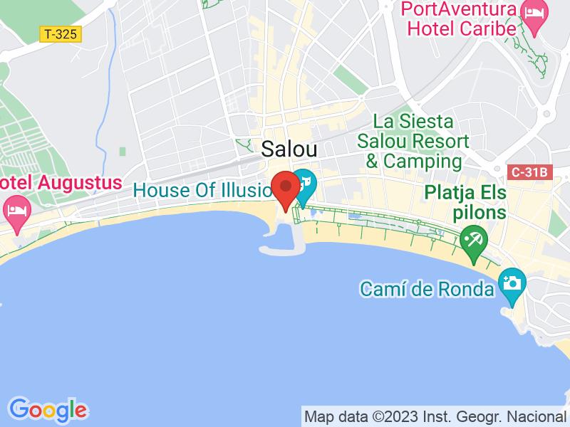 Map of Restaurant Club Nautic